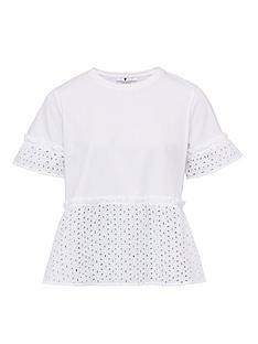 v-by-very-broderie-mix-tee-white