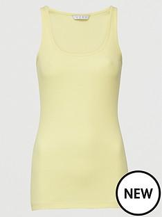 v-by-very-tall-basic-rib-vest-lemon