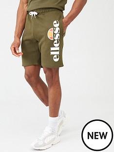ellesse-bossini-shorts-khaki