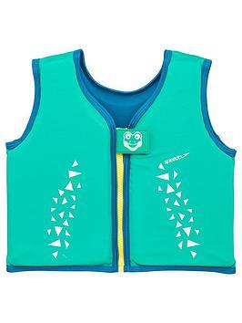 speedo-toddler-boys-croc-printed-printed-float-vest-greenblue
