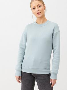 v-by-very-the-essential-oversized-basic-sweat-aqua