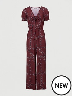 v-by-very-tie-front-cut-out-jumpsuit-paisley-print