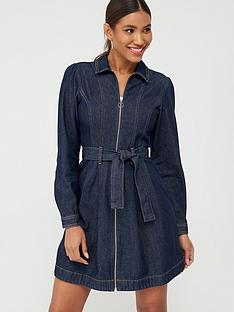 v-by-very-zip-through-denim-dress-indigo