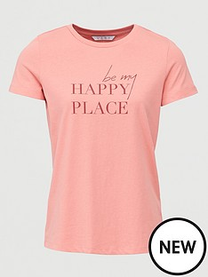 v-by-very-be-my-happy-place-tee