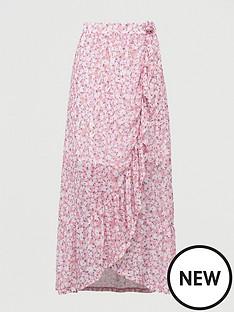 v-by-very-mesh-wrap-midi-skirt-pink-print