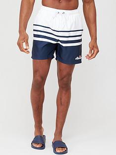 ellesse-alfonso-swim-shorts-whitenavy