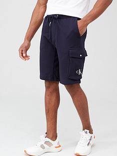 calvin-klein-jeans-monogram-patch-sweat-shorts-navy