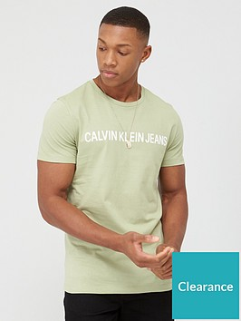 calvin-klein-jeans-instit-logo-slim-fit-t-shirt-sage