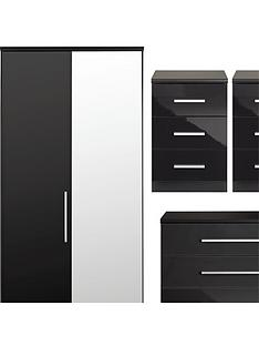 prague-gloss-4-piece-package-2-door-wardrobe-5-drawer-chest-and-2-bedside-cabinets