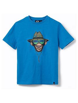 animal-boys-hang-loose-short-sleeve-t-shirt-blue