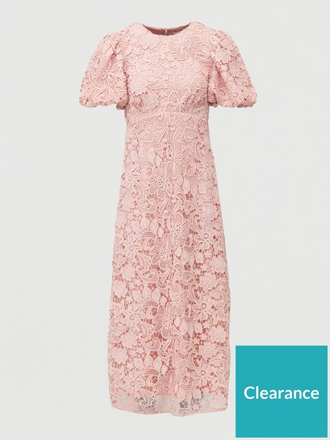 v-by-very-lace-puff-sleeve-midaxi-dress-blush