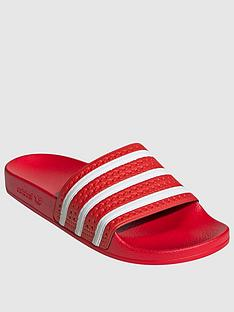 adidas-originals-adilette-slides-rednbsp