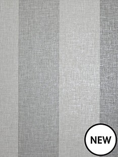 arthouse-linen-stripe-grey-wallpaper