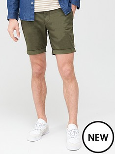 selected-homme-paris-straight-fit-shorts-green