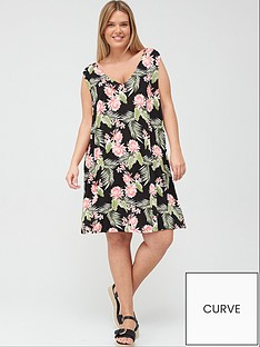 v-by-very-curve-swing-dress