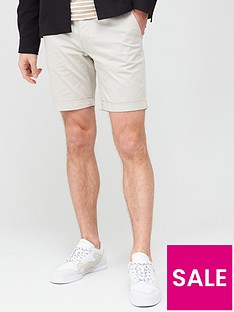 selected-homme-paris-straight-fit-shorts-stone