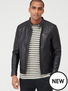 selected-homme-classic-leather-jacket
