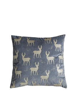 gallery-reindeer-metallic-velvet-cushion
