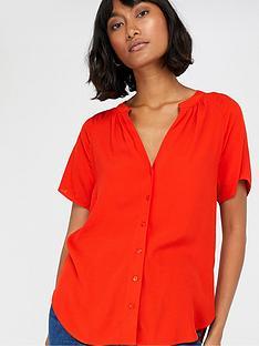 monsoon-zinnia-short-sleeve-blouse-red