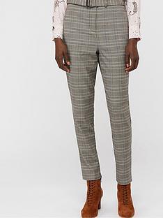 monsoon-ettie-check-tapered-leg-trouser-grey