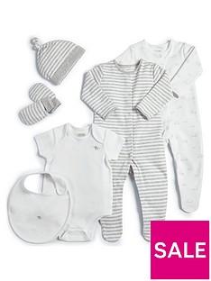 mamas-papas-baby-unisex-6-piece-layette-white