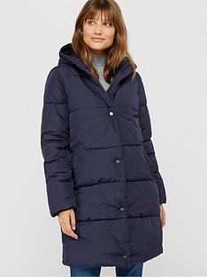 monsoon-ria-recycled-padded-coat-navy