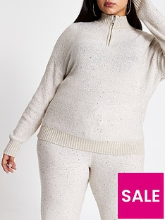ri-plus-ri-plus-sequin-zip-through-hoodie--oatmeal