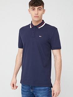 tommy-jeans-classics-tipped-stretch-short-sleeve-polo-shirt-navy