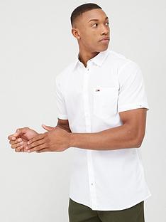 tommy-jeans-short-sleeve-poplin-shirt-white