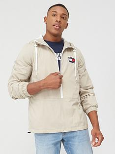 tommy-jeans-contrast-zip-popover-jacket-stone