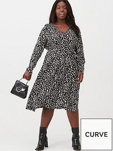 v-by-very-curve-button-through-midi-dress-animal