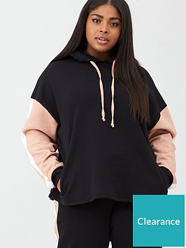 v-by-very-curve-colour-block-hoodie-blackpink