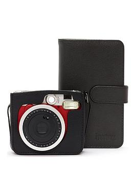 fujifilm-instax-fujifilm-instax-mini-90-red-instant-camera-bundle-inc-case-album-amp-30-shots