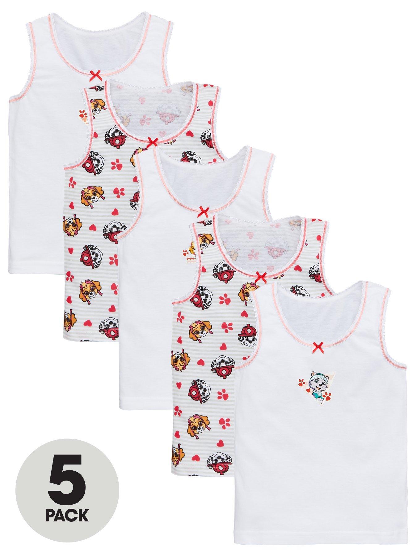 Paw Patrol Little Girls Toddler Long Sleeve Christmas Pajama Set