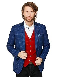 joe-browns-touch-of-colour-blazer-blue