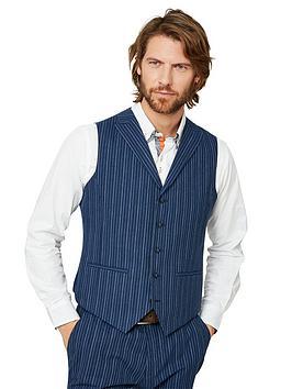 joe-browns-superb-stripe-waistcoat-blue