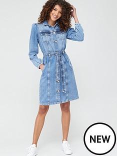 v-by-very-denim-midi-dress-mid-wash
