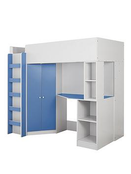 miami-fresh-high-sleeper-bed-with-desk-wardrobe-and-shelves-blue