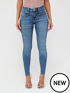 v-by-very-tallia-yoke-detail-mid-wash-skinny-jeans-mid-wash