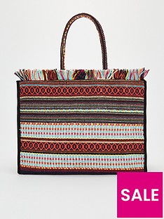 v-by-very-jacque-jaquard-tote-bag-multi