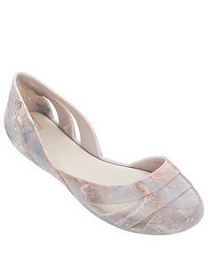 zaxy-liquid-shell-marble-cut-out-ballerina-ivory