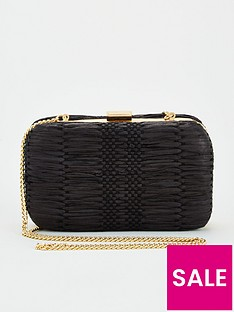 v-by-very-kit-woven-boxclutch-black