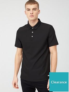 river-island-pique-polo-shirt-blacknbsp