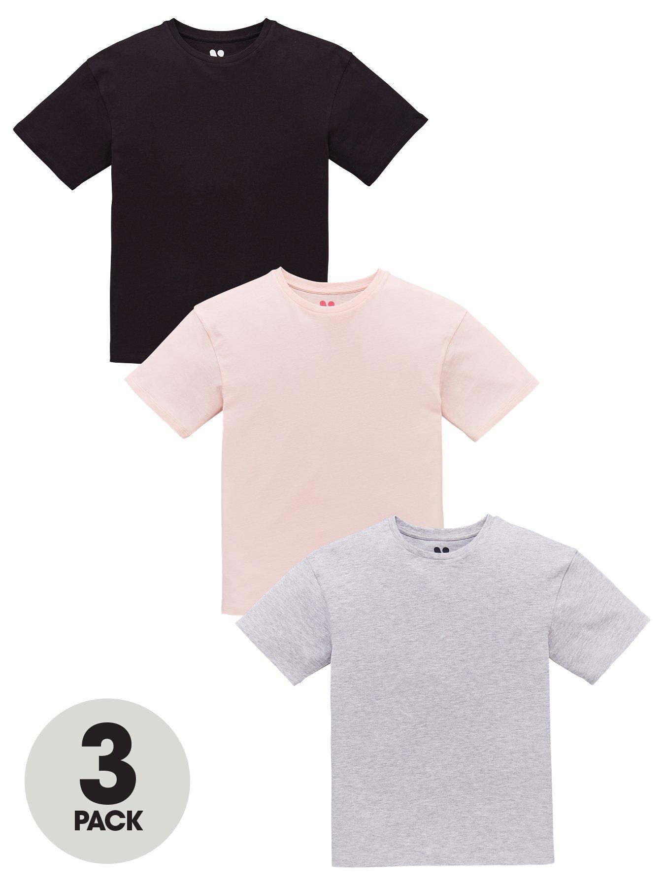 CREATOR Toddler Baby Girl Ruffle Sleeve Shirt Basic Plain Cotton T-Shirts Tops Tee Clothes