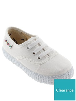 victoria-lace-up-cotton-canvas-plimsoll-white