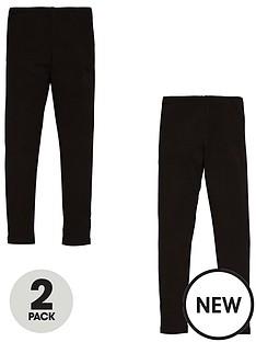 v-by-very-girls-2-pack-leggings-black