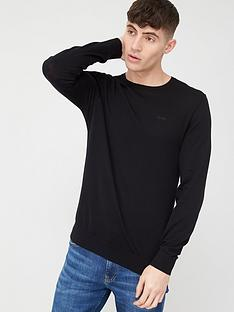 hugo-san-lorenzon-knitted-jumper-black