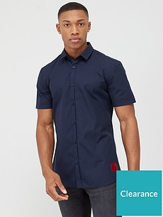 hugo-empson-short-sleeve-shirt-navy