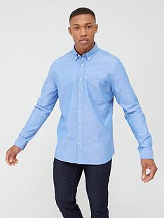 hugo-erman-oxford-shirt-mid-blue