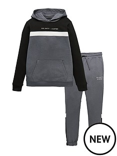 v-by-very-cut-and-sew-hoodiejogger-set-grey